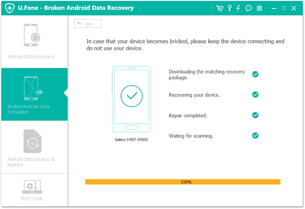 android data recovery cracked screen