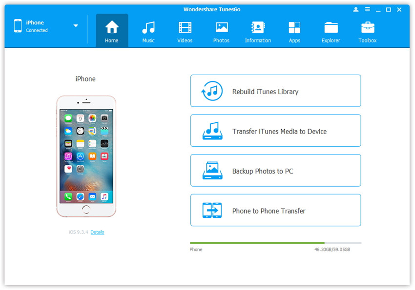 android phone explorer for pc