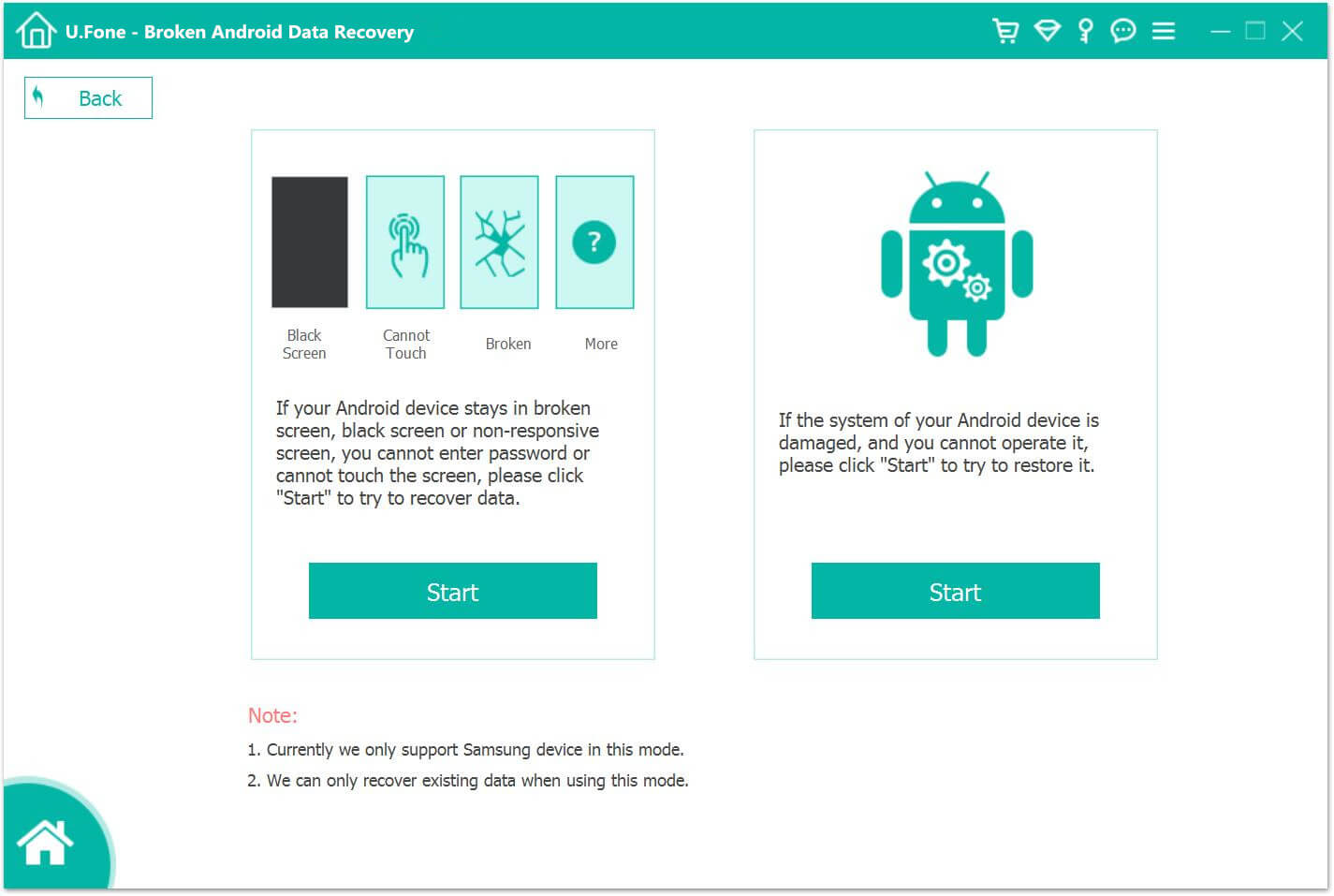 Broken Android Data Recovery