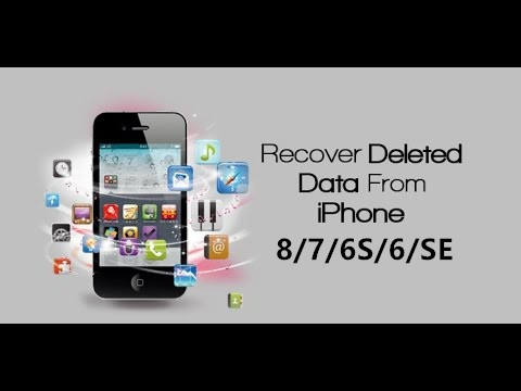 3 Ways to Recover Deleted Data from iPhone 8\/7\/6S\/6\/5S