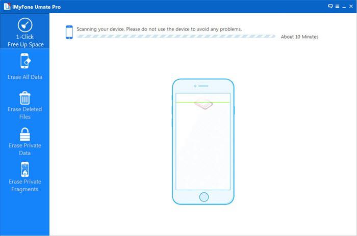 clean iphone junk data