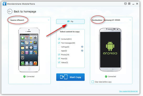 Transferring iPhone Contacts to Android