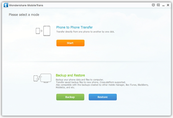 Transfer phone numbers from iPhone to Android