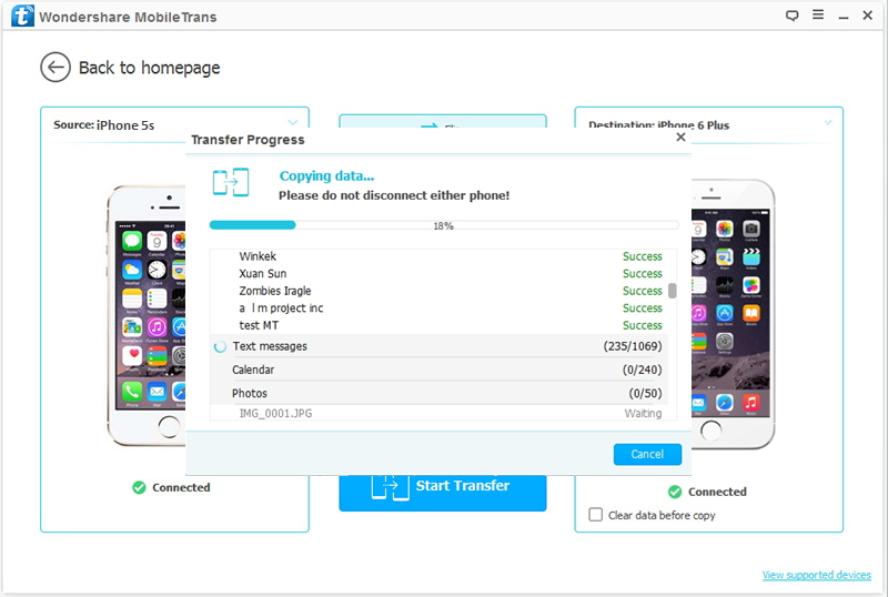 Transfer Contacts From One Iphone To Another