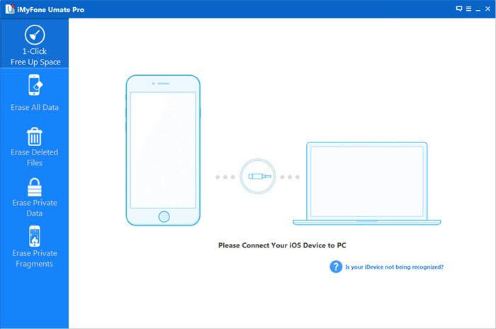 erase iphone data with ios data eraser