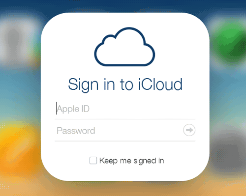 login-into-icloud-with-apple-id