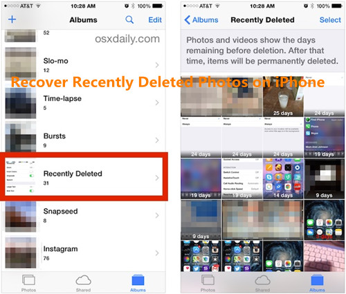 How To Recover Deleted Photos From Iphone S Without Backup