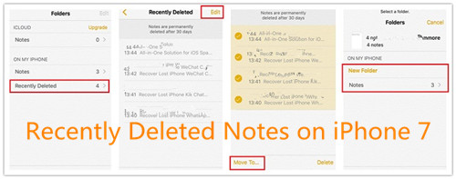recover deleted notes iphone 4 ways to recover deleted lost notes from iphone x 8 9687
