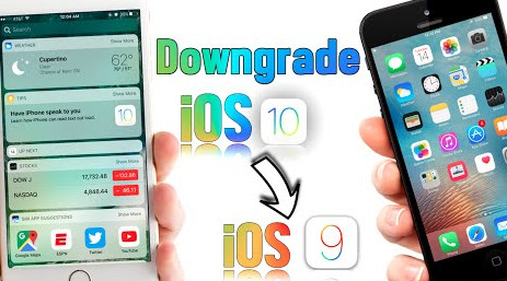 2 Ways Downgrade iOS 10 to iOS 9 3 5:How to Downgrade iPhone