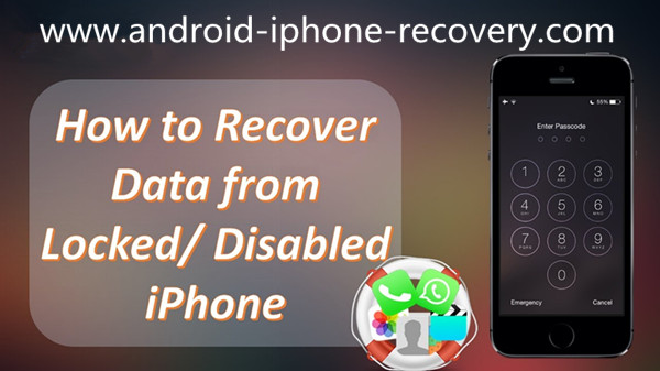 Iphone Disabled Fix Without Losing Data