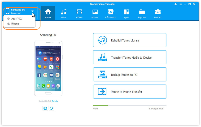Transfer Music From Iphone To Samsung
