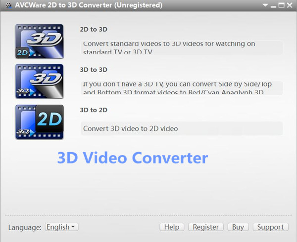 3d video converter for pc