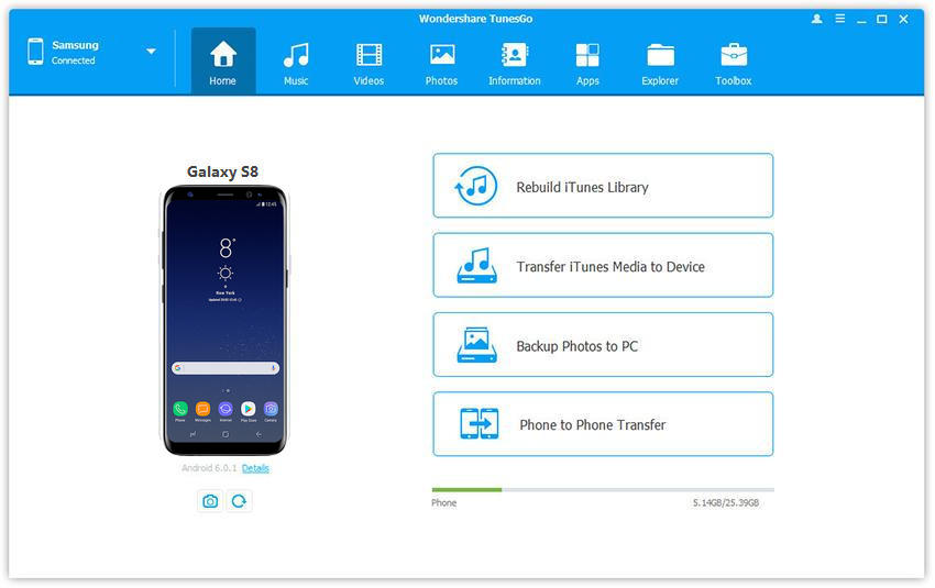 One Click to Root Samsung Galaxy S8 without Data Loss