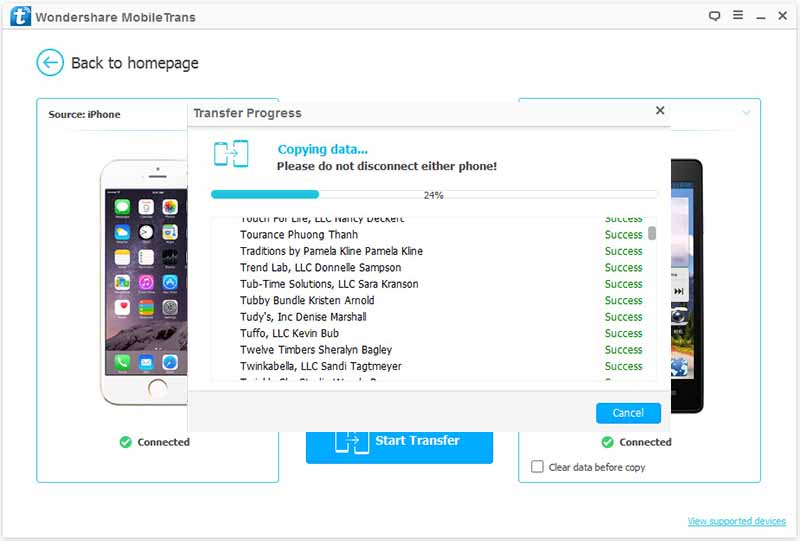 How To Transfer From Iphone To Huawei