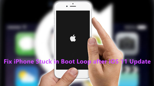 iphone stuck on update fix iphone reboot loop after ios 11 update ios 10 3 15475