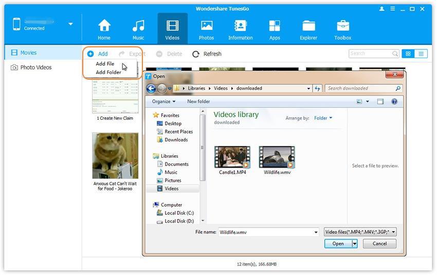 How To Transfer Media Files To Motorola Z Music Videos