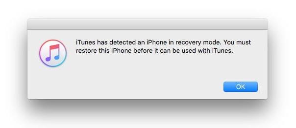 Itunes восстановить iPhone