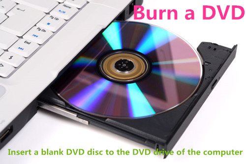 inset DVD disc & How to Convert Videos/Movies to DVD Disc/Folder/ISO