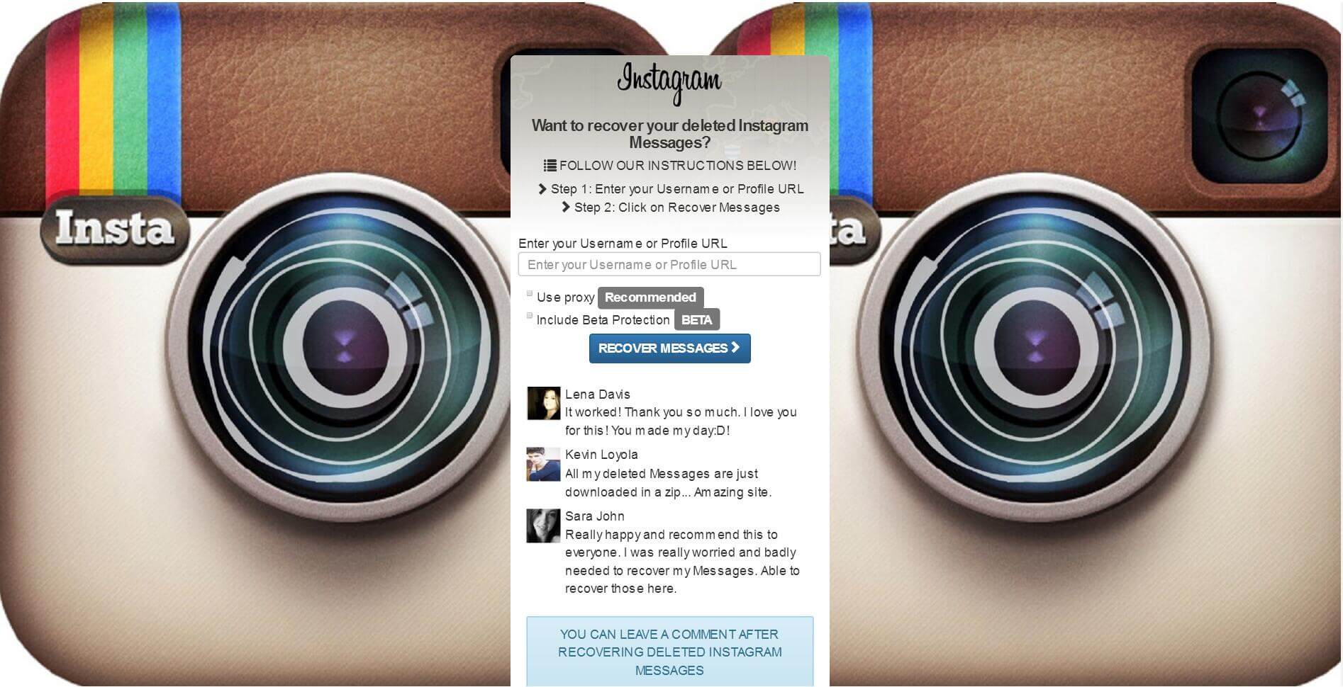 4 Ways Recover Instagram Direct Messages - Online,Android,iPhone