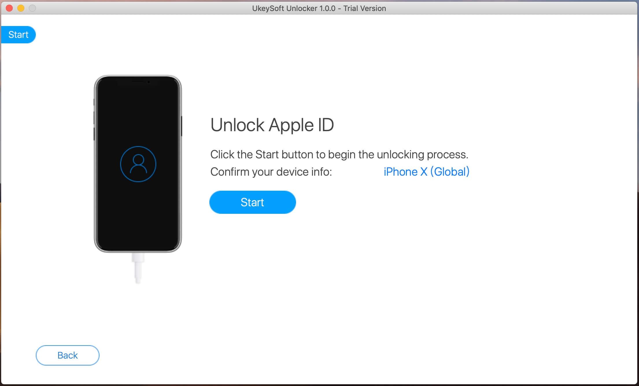 Разблокировка учетной записи в Apple ID